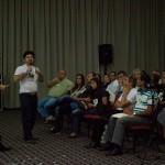 Reitores e representantes de santuários de todo o Brasil se reuniram no Hotel Tauá, em Caeté. Imagem: Camilla Moreira/Observatório da Evangelização