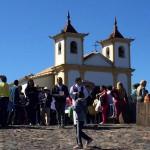 Ação faz parte das comemorações de 250 de anos de peregrinações ao Santuário. Imagem: Renato Alves