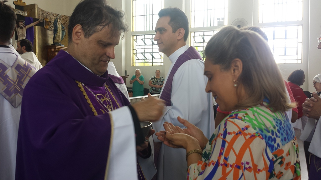 Celebração aconteceu na Paróquia São Gonçalo. em Contagem. Imagem: Arquidiocese de BH