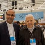 Bispo mais velho e mais jovem na 55ª Assembleia Geral. Imagem: CNBB/Maurício Sant'ana