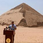 Duas novas pirâmides são abertas a visitação no Egito
