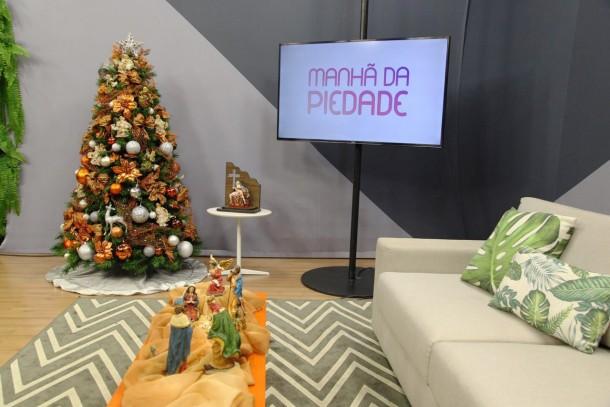 """Programa Manhã da Piedade recebe decoração da """"Natal Magia"""""""
