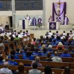 Celebração aconteceu no Santuário São Judas Tadeu. Imagem: Arquidiocese de BH