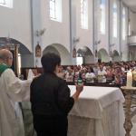 Celebração aconteceu no Santuário Nossa Senhora da Conceição, em Belo Horizonte. Imagem: Arquidiocese de BH