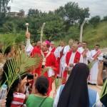 Arcebispo Dom Walmor Oliveira realizou celebração na Tenda Cristo Rei. Imagem: Arquidiocese de BH